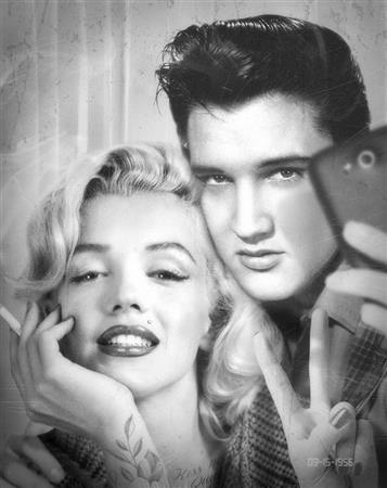 Elvis & Marilyn Photobooth