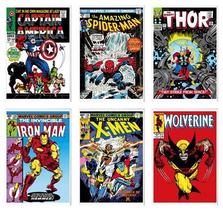 Marvel Superheroes - Portfolio of 6 - Summer 2015