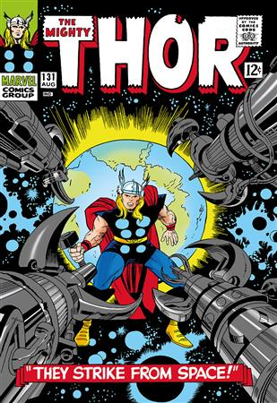 The Mighty Thor #131 - They Strike From Space!