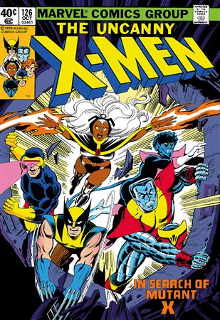 The Uncanny X-Men #126 - In Search Of Mutant X
