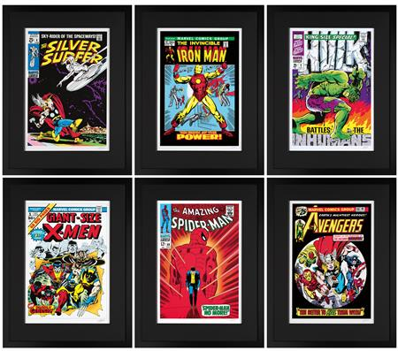 RARE! Marvel Superheroes - 1st Edition - Paper Set of 6